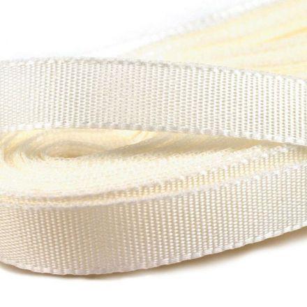 Galanterie: Stuha taftová šíře 9 mm (10m) - smetanová