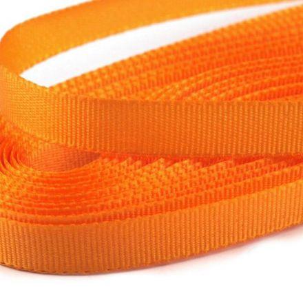 Galanterie: Stuha taftová šíře 9 mm (10m) - oranžová