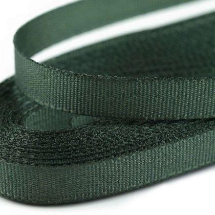 Galanterie: Stuha taftová šíře 9 mm (10m) - khaki