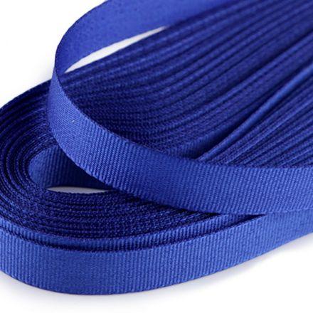 Galanterie: Stuha taftová šíře 9 mm (10m) - modrá safírová