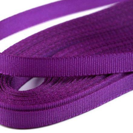 Galanterie: Stuha taftová šíře 9 mm (10m) - tmavě fialova