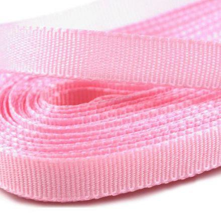 Galanterie: Stuha taftová šíře 9 mm (10m) - růžová