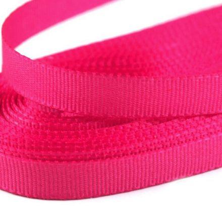 Galanterie: Stuha taftová šíře 9 mm (10m) - růžová ostrá