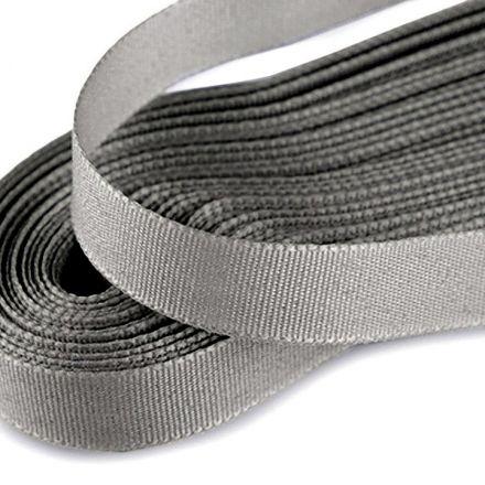 Galanterie: Stuha taftová šíře 9 mm (10m) - šedá