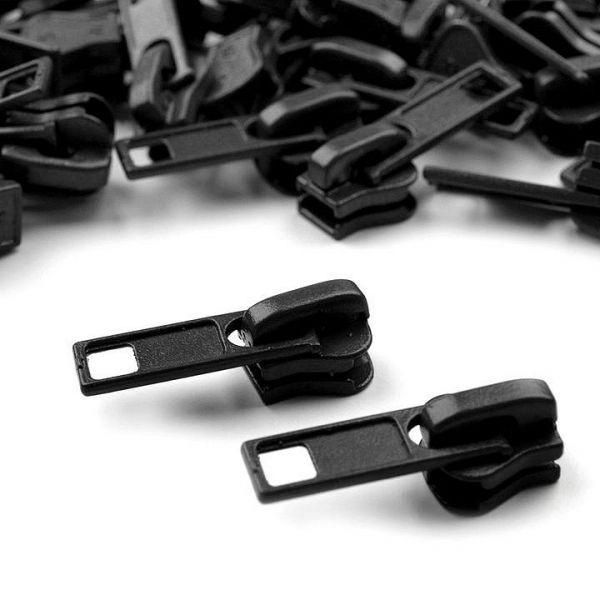 Jezdec ke kostěným zipům 5 mm - černá
