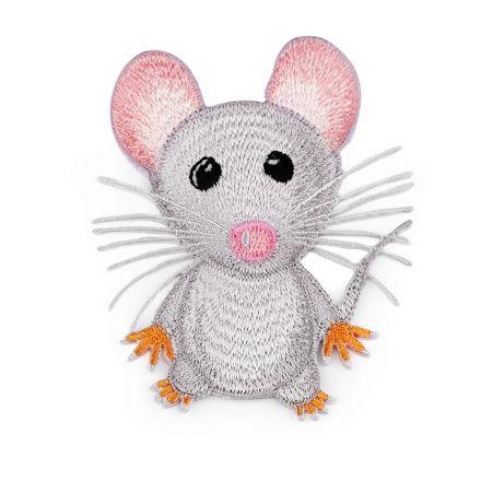 Galanterie: Nažehlovačka - myš