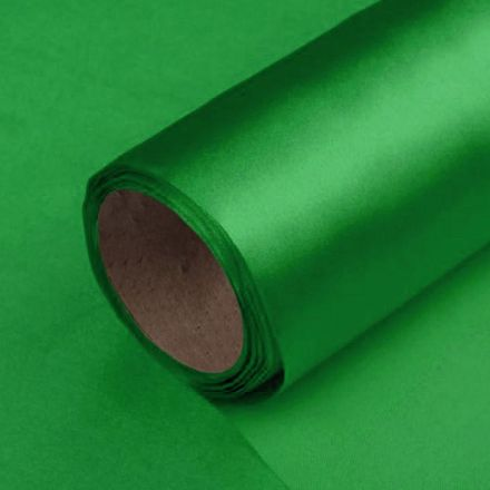 Galanterie: Satén jednostranný / stuha šíře 14 cm - zelená