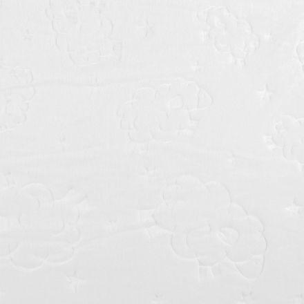 Metráž: Minky ovečka - bílá