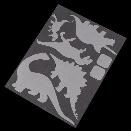 Galanterie: Reflexní nažehlovačka - dinosaurus