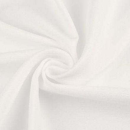 Metráž: Satén krešovaný šíře 145 cm - bílá