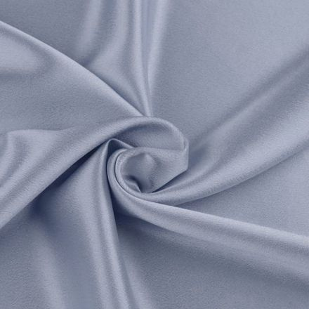 Metráž: Satén krešovaný šíře 145 cm - modrošedá